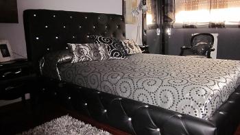Ideas para decorar dormitorio rosa blanco decoraci n for Cuarto negro con gris